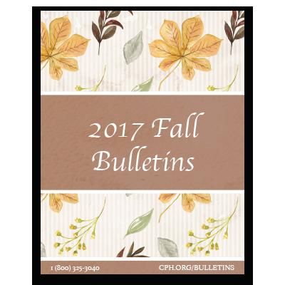 2017 Fall Bulletins