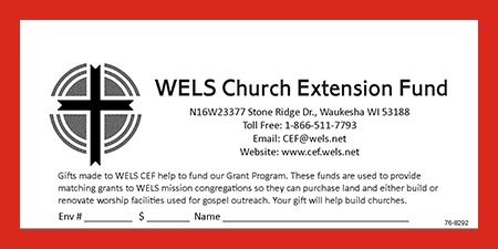 WELS Church Extension Fund